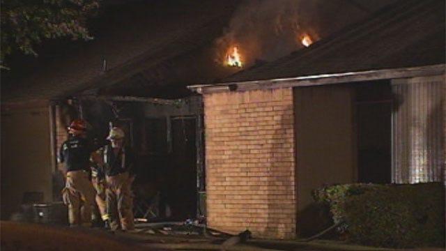 Woman Drops Cigarette, Sparks Fire At Midwest City Apartment Complex