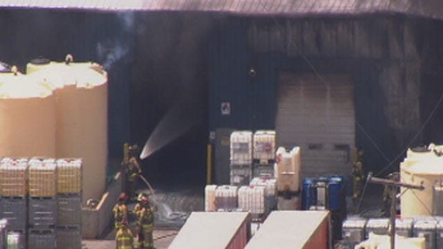 Fire Officials, Residents Recall 5-Alarm Fire At OKC Chemical Plant