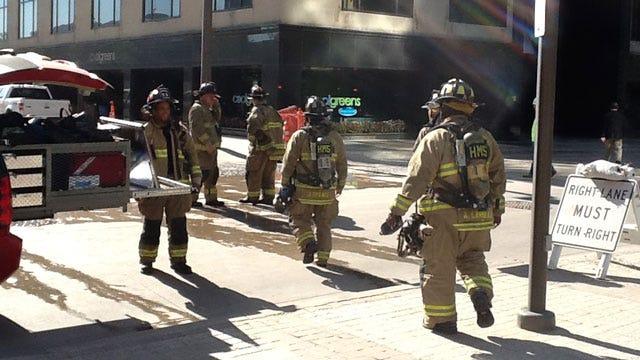 Crews Cap Gas Leak In Downtown OKC