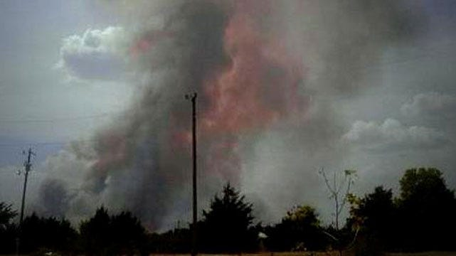 One Injured, Three Mobile Homes Damaged As Grassfires Erupt In Oklahoma
