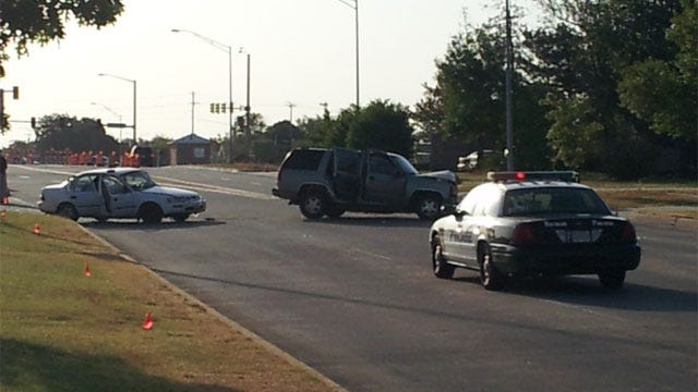 One Killed, One Injured In Two-Vehicle Collision In Norman