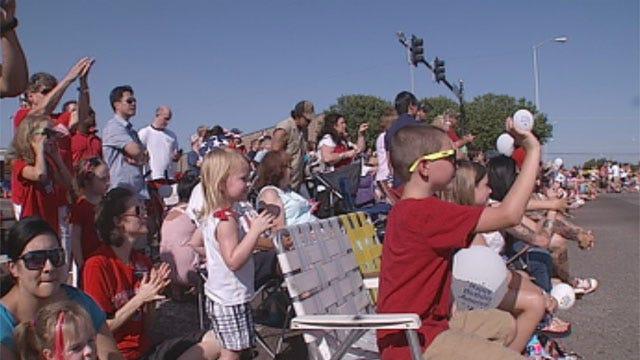 Huge Crowd Gathers for Edmond's LibertyFest