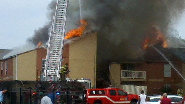 3-Alarm Fire Extinguished At NW OKC Apartment Complex