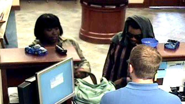 Two Suspects Attempt To Rob OKC Bank