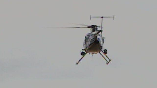 Authorities Investigate Helicopter Laser Danger In OKC