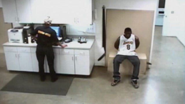 Police Release Video Of Justin Blackmon Being Questioned For DUI Arrest
