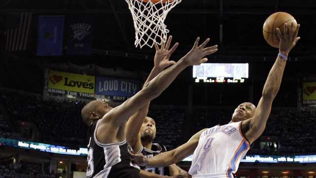 Ibaka's Record Night Propels Thunder To Series Tying Win