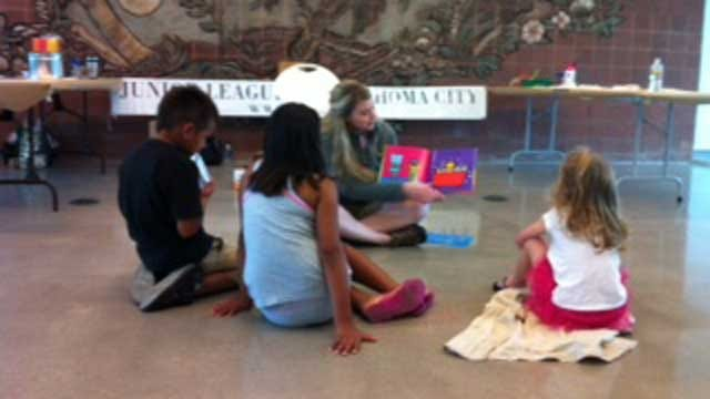 Junior League Of OKC Hosts Story Time Events For Kids This Summer