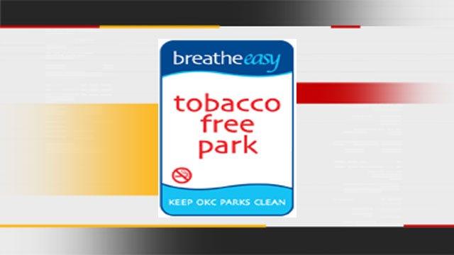 OKC Needs Help Choosing 'Tobacco Free' Park Signs