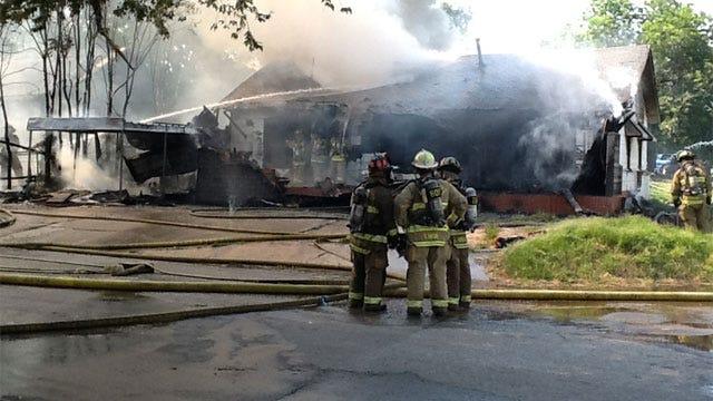 Crews Get Fire Under Control At Four-Plex In OKC