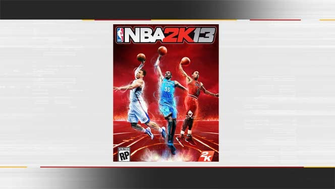 Kevin Durant, Blake Griffin Grace Cover Of NBA 2K13