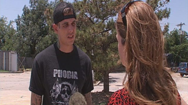 Man Accused In Edmond Possible Hate Crime Speaks To News 9 Before His Arrest