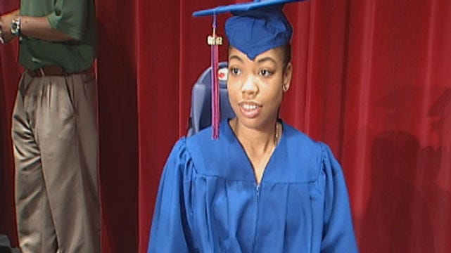 Special Graduation Ceremony Hosted For OKC Teen Injured In Crash