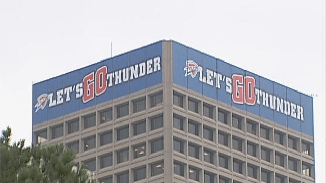 Oklahoma City In The Grips Of Thunder Mania