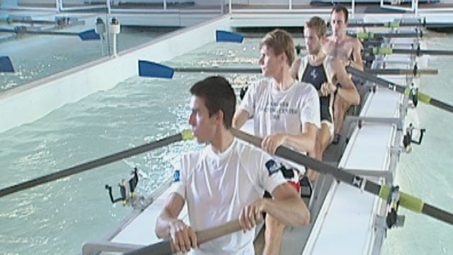 USA Rowing Team Trains In OKC, Prepares For 2012 Olympics Game