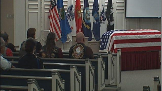 Memorial Service Held In Edmond For Veteran Who Died Homeless