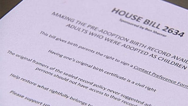 Proposed Bill Will Help Adoptees Identify Biological Parents