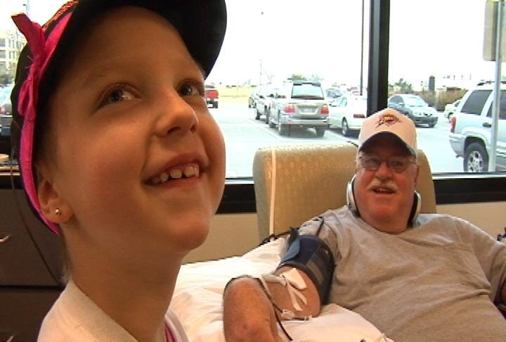 Young Cancer Survivor Says 'Thank You' to Blood Donors
