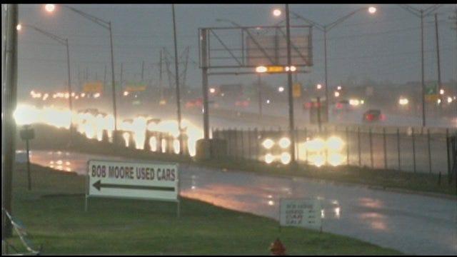 Stormy Monday Creates Slick Morning Commute