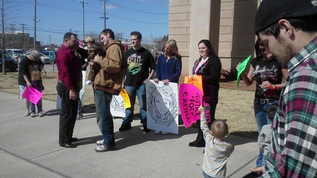 Family And Friends Rally For Carina Saunders