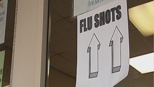 Flu Cases, Deaths On The Rise In Oklahoma