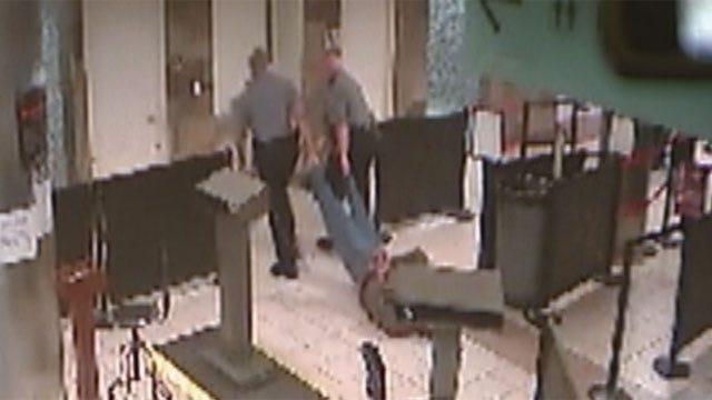 Police Tase, Drag Man Through OKC Airport