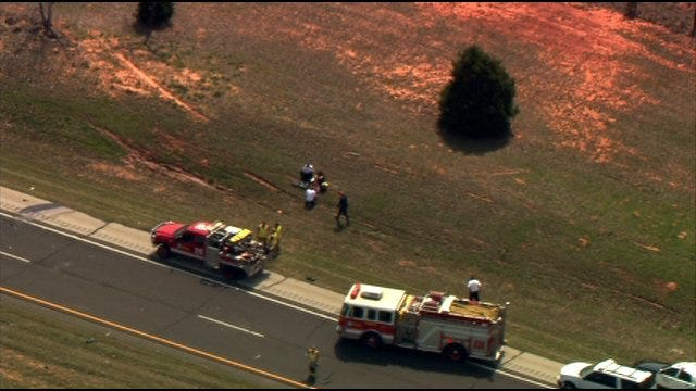 Rollover Accident Cleared On I-240 Near Choctaw