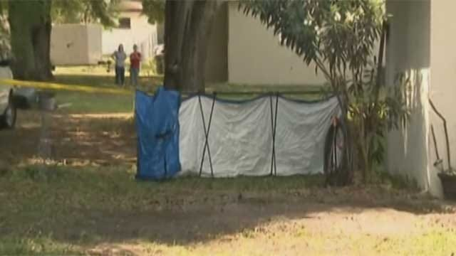 Wife Buries Former Oklahoma Man In Garden Behind Florida Home