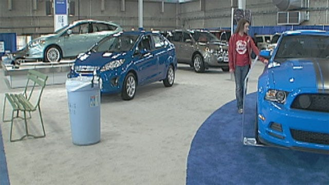 2012 International Auto Show Takes Place In Oklahoma City