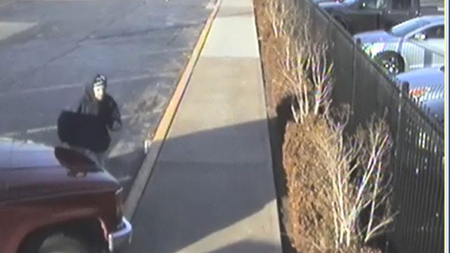 OKC Police Release Photos Of Auto Burglary Suspect