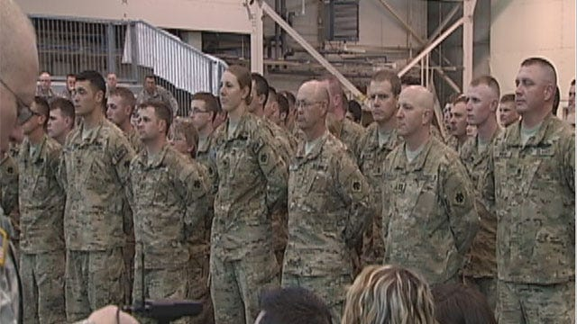 Oklahoma Lawmakers Try To Help Soldiers Facing Unemployment