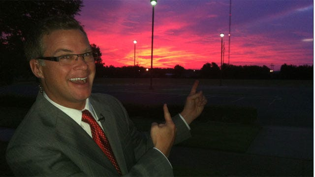 Jed's Weather Blog: What a Beautiful Sunrise!