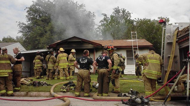 Two Injured, Three Family Dogs Killed In Southwest OKC House Fire