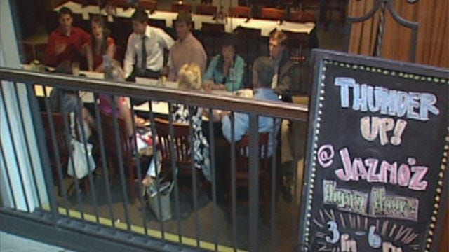 Deep Thunder Playoff Run Could Mean Big Bucks For Bricktown Businesses