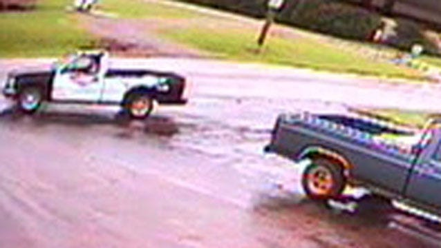 Cushing Police Seek Pickup Suspected In Gas Thefts
