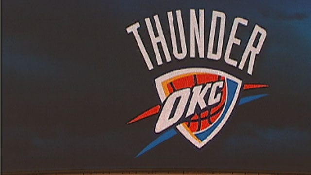 OKC Thunder Fans To Pack 'Thunder Alley' For Playoff Game Monday