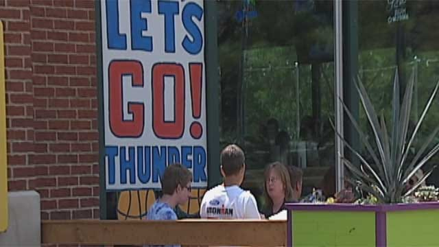 Oklahoma City, Thunder Officials Talk About Bricktown Shooting