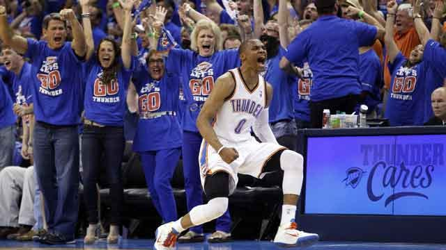 Thunder Clinch Series With Stunning Second Half