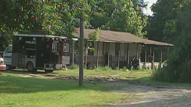 Kids Removed From Harrah Home After Police Discover Large Meth Lab