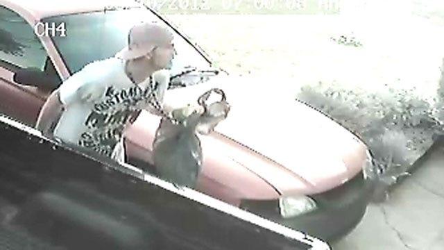 Photos Snapped Of Car Burglary Suspect In Northwest OKC