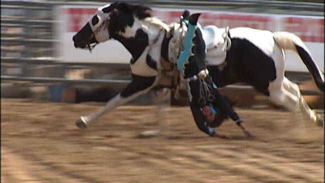 Two Oklahoma Girls Featured As Trick Riders In New Movie