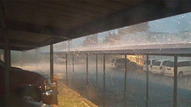 More Storms Roar Through Central Oklahoma Wednesday