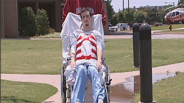 OKC Teen, Paralyzed After Shooting, Talks About Attack