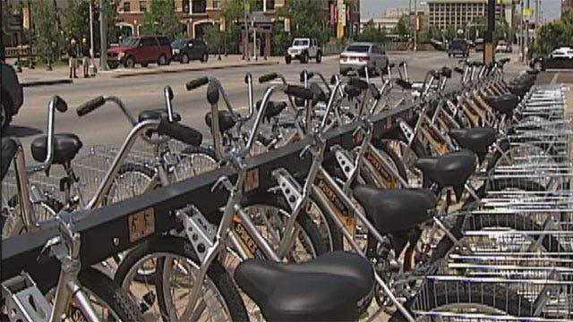 OKC Bike Rental Program Suspended Amid Security Woes