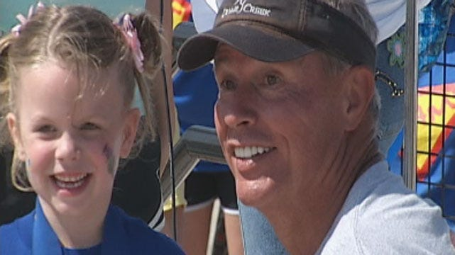 Stan Miller Joins 'Great Strides Walk' To Help Raise Awareness Of Cystic Fibrosis