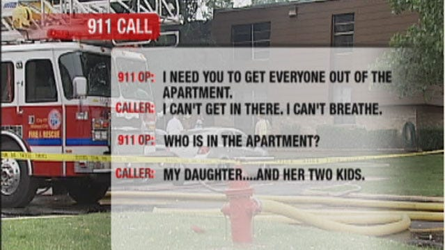 Police Released 911 Call In Midwest City Fatal Fire