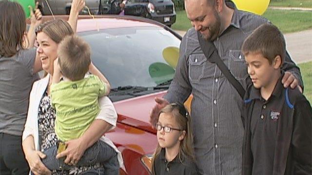 Renee Davis Wins Free Car In Cash For Schools Giveaway