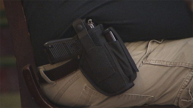 Gun Owners Celebrate New Open Carry Law With Breakfast