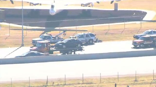 Injury Accident On I-40 Shuts Down Eastbound Lanes At Air Depot