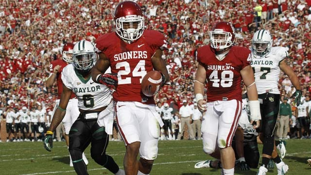 Sooners Hold On At Home To Defeat Baylor